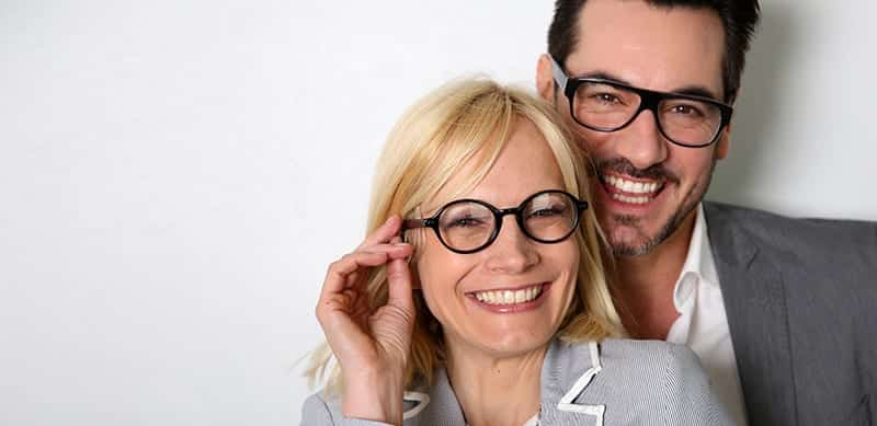 Fashionable Eyeglass Frames