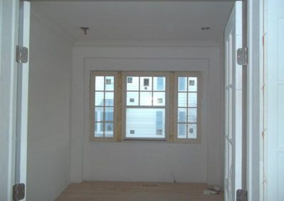 a newly painted window